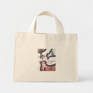 chick chick chick tote mini tote bag