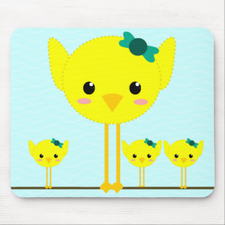 chick chik little cute mouse pads