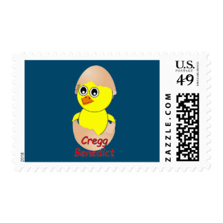 Chick Cregg Benedict The Travelin' Chick Postage