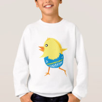 chick cute baby animal fun joy happy beautiful sweatshirt