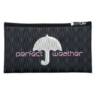 Chick Cute Cool Travel Vacation Makeup Bag