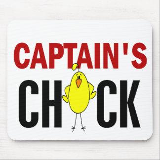 Chick de capitán tapete de raton
