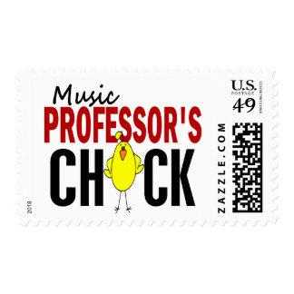 CHICK DE LA MÚSICA DE PROFESOR SELLOS