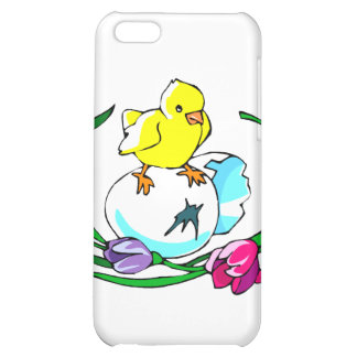 chick egg tulip cute easter design iPhone 5C covers