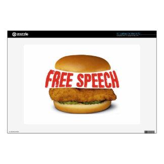 "Chick Fil A Appreciation Day - FREE SPEECH Skin For 13"" Laptop"