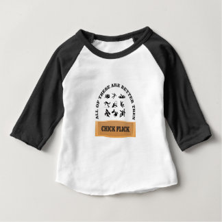 chick flick yeah baby T-Shirt