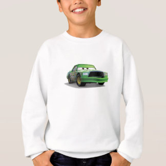 Chick Hicks Green Race Car Disney Sweatshirt