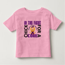 Chick In The Fight Alzheimer's Disease Toddler T-shirt