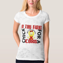 Chick In The Fight Blood Cancer T-Shirt