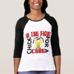 Chick In The Fight Brain Tumor T Shirt