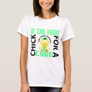 Chick In The Fight Celiac Disease T-Shirt