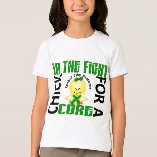 Chick In The Fight Cerebral Palsy T-Shirt