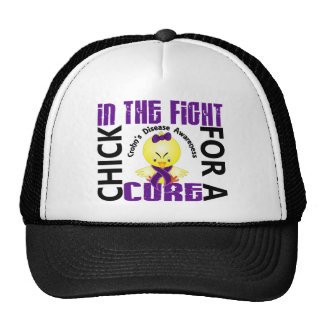 Chick In The Fight Crohn's Disease Hat