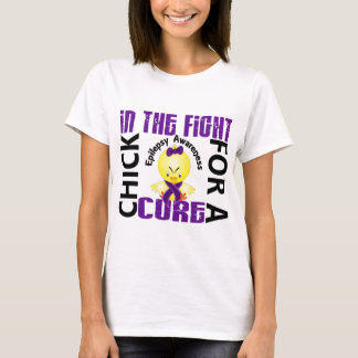 Chick In The Fight Epilepsy T-Shirt