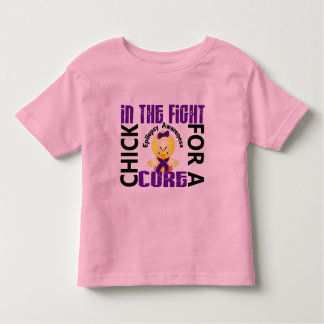 Chick In The Fight Epilepsy Toddler T-shirt