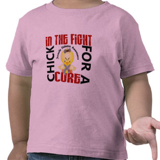 Chick In The Fight Juvenile Diabetes Tshirt