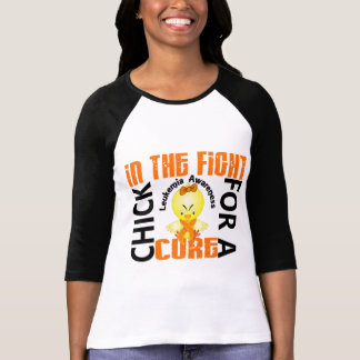 Chick In The Fight Leukemia T-Shirt
