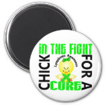 Chick In The Fight Lymphoma Magnets