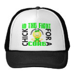 Chick In The Fight Lymphoma Trucker Hat