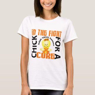 Chick In The Fight Multiple Sclerosis MS T-Shirt
