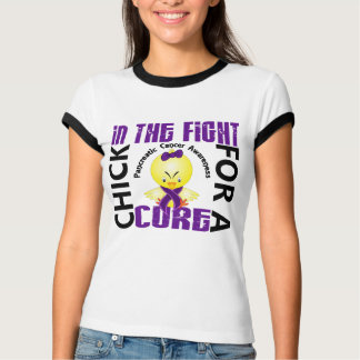 Chick In The Fight Pancreatic Cancer T-Shirt