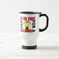 Chick In The Fight Skin Cancer Travel Mug