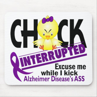 Chick Interrupted 2 Alzheimer's Disease Mouse Pad