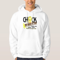 Chick Interrupted 2 Bladder Cancer Hoodie