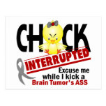 Chick Interrupted 2 Brain Tumor Postcards