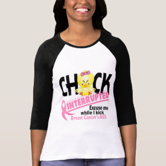 Chick Interrupted 2 Breast Cancer T-Shirt