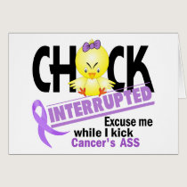 Chick Interrupted 2 Cancer Card