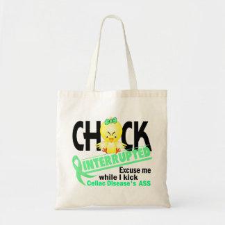 Chick Interrupted 2 Celiac Disease Tote Bag