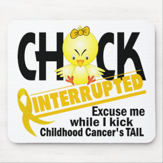 Chick Interrupted 2 Childhood Cancer Mouse Pads