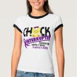 Chick Interrupted 2 Lupus Shirts