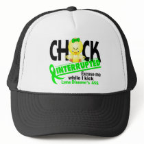 Chick Interrupted 2 Lyme Disease Trucker Hat