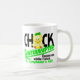 Chick Interrupted 2 Lymphoma (Lime) Coffee Mug