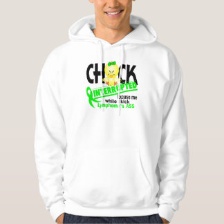 Chick Interrupted 2 Lymphoma (Lime) Hoodie