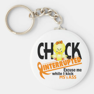 Chick Interrupted 2 MS Keychain