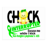 Chick Interrupted 2 Non-Hodgkin's Lymphoma Postcards