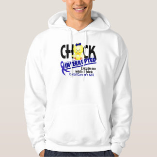 Chick Interrupted 2 Rectal Cancer Hoodie