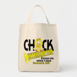 Chick Interrupted 2 Sarcoma Tote Bag