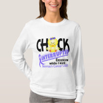 Chick Interrupted 2 Stomach Cancer T-Shirt