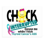 Chick Interrupted 2 Thyroid Cancer Post Cards