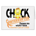 Chick Interrupted 2 Uterine Cancer Card