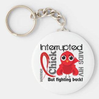 Chick Interrupted 3 AIDS Key Chains