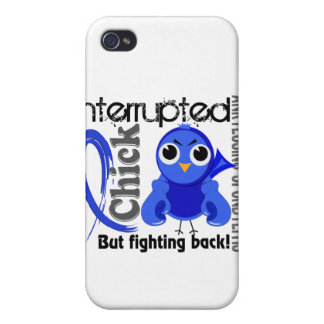 Chick Interrupted 3 Ankylosing Spondylitis Covers For iPhone 4
