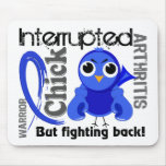 Chick Interrupted 3 Arthritis Mouse Pad