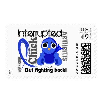 Chick Interrupted 3 Arthritis Stamp