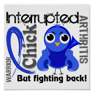Chick Interrupted 3 Arthritis Print
