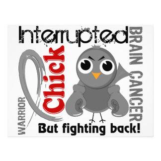 "Chick Interrupted 3 Brain Cancer 8.5"" X 11"" Flyer"